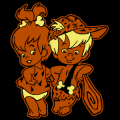 Flintstones Pebbles and Bamm Bamm 01