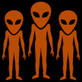 Three Aliens