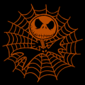 Jack Skellington Spider Web 01