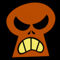 Angry Keyhole Skull