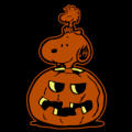 Snoopy and Woodstock Halloween