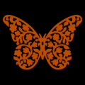 Flower Butterfly 01