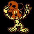 Mickey Skeleton 01