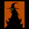Witch Silhouette 01