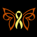 Breast Cancer Ribbon Butterfly 02