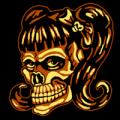 School Girls Skull