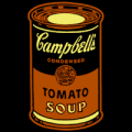 Campbells Soup Can Andy Warhol