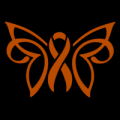 Breast Cancer Ribbon Butterfly 01