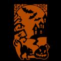 Halloween Scene 01a