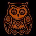 Stylized Owl 06