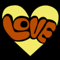 Groovy Love Heart