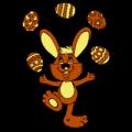 Juggling Easter Eggs
