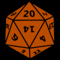Dungeons & Dragons 20 Dice