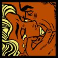 KISS V Roy Lichtenstein