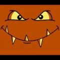 Square Monster Head