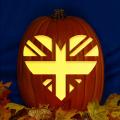 England Flag Heart CO