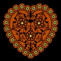 Doily Heart 02