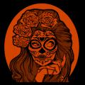 Sugar Skull Woman 4C