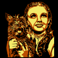 Wizard of Oz - Dorothy with Toto 01
