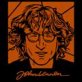 John Lennon Pop Art with Sig