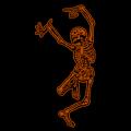 Dancing Skeleton 03