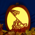 Raising the Flag Iwo Jima CO
