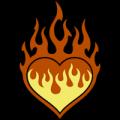 Flaming Heart 03