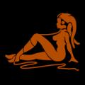 Twi' Lek Mudflap Girl