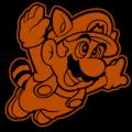 Raccoon Mario Super Mario 02