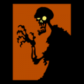 Zombie Silhouette 01