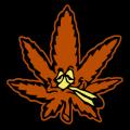 Stoned Ganja Leaf 02