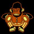 Monkey Playing Cymbals 02
