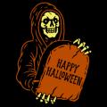 Grim Reaper Happy Halloween 02