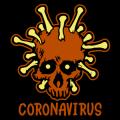 Coronavirus Skull 01