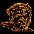 Werewolf Ready to Attack