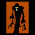 Zombie Silhouette 04