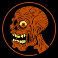 Zombie Head 05