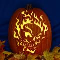 Flaming Skull 02 CO