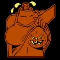 Halloween Boob Flash