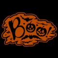 Boo Bats and Pumpkins 02