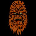 Chewbacca Typographic