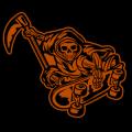 Skateboarding Reaper