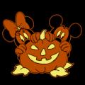 Mickey Minnie Pumpkin