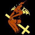She Devil Pin Up