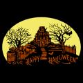 Haunted House Happy Halloween 02