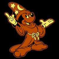 Mickey Sorcerer Stoneykins