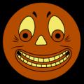 German Jack O lantern Face