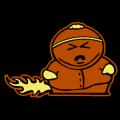 Cartman Alien Probe