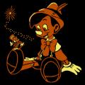 Pinocchio and Jiminy Cricket 02