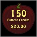 150 Pattern Credits
